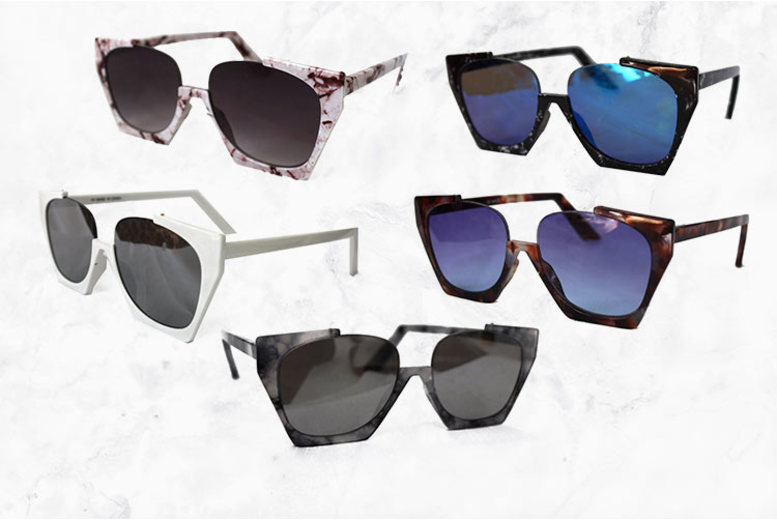 Olivia Half-Rimmed Sunglasses – 5 Colours! (£4.98)