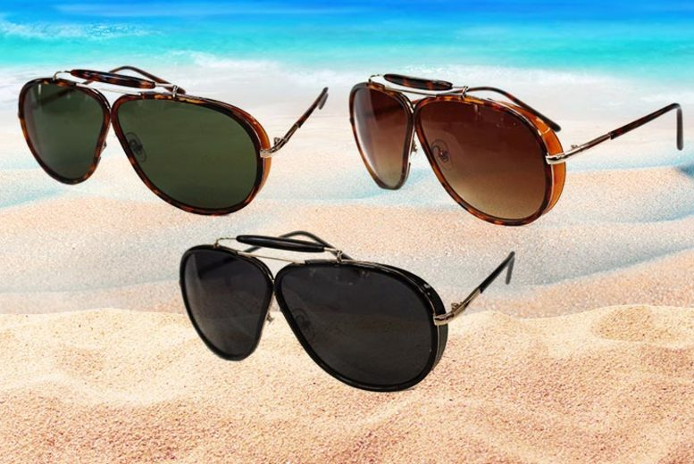 Courtney UV Protected Aviator Sunglasses – 3 Designs! (£4.98)