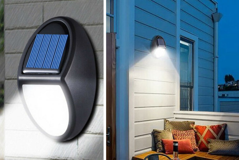 Motion Sensor Waterproof Solar Lights – 1, 2 or 4 Pack! (£5.99)