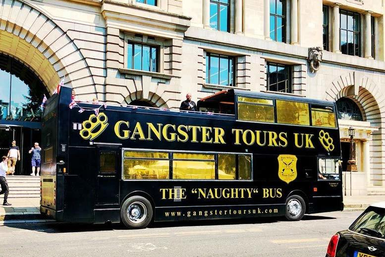 London Gangster Bus Tour & The Clink Museum Entry for 1 or 2