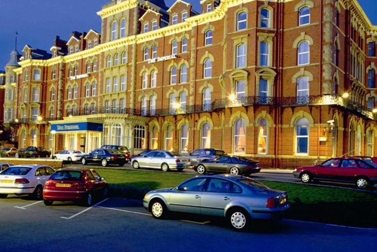 From £39 for a spa day for two with a treatment each or £139 to include an overnight stay with 3-course dinner at The Imperial Hotel, Blackpool - save up to 35%