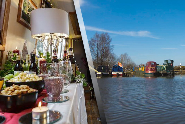 From £12 for a 2-hour Christmas narrowboat cruise inc. mulled wine & roasted chestnuts with Hapton Valley Boats - save up to 66%