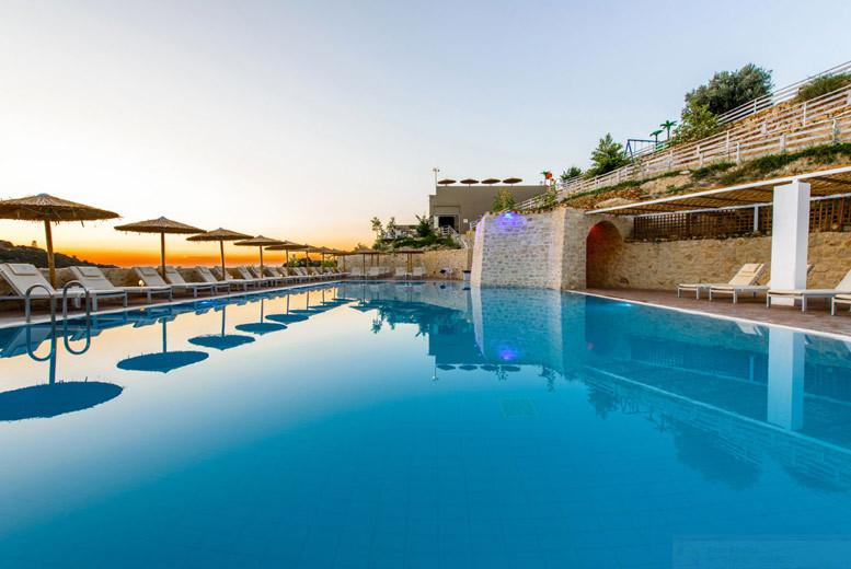 5* Luxury All-Inclusive Crete & Flights @ Rimondi Grand Resort & Spa
