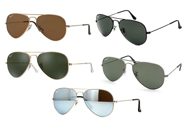 Polarised Ray Ban Aviator Sunglasses – 5 Styles! (£84)