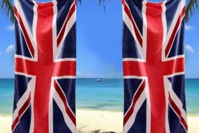 Leisure: Union Jack Beach Towel