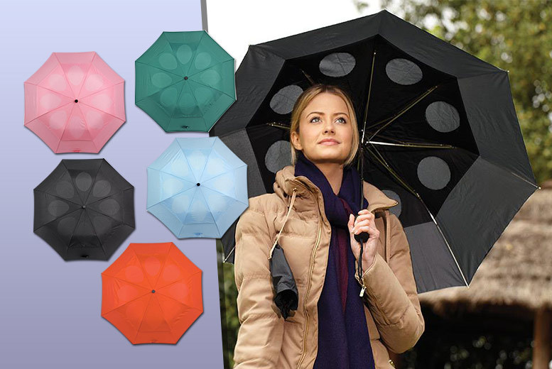 £7.99 instead of £17.99 (from Easylife) for a StayDry windproof umbrella - choose from five colours and save 56%