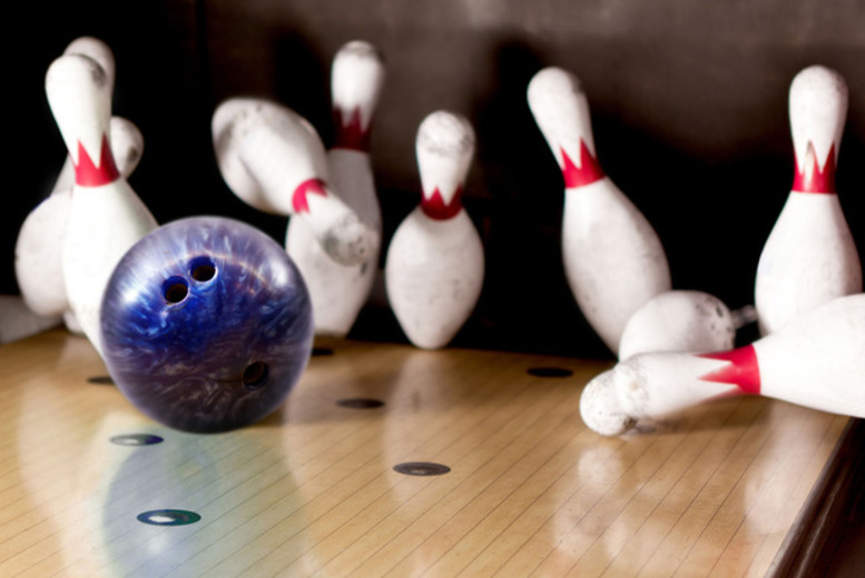£8 instead of £14.50 for two games of ten pin bowling for two people with a hot dog or chips each, £15 for four people at MFA Bowl, Blackpool - save up to 61%