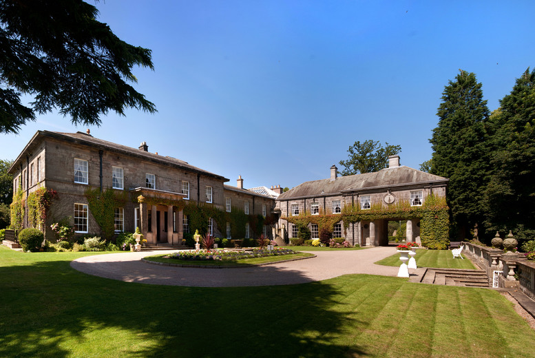 £29 for a spa day for one including a two-course lunch, or £55 for two people at 4* Doxford Hall Hotel and Spa, near Alnwick