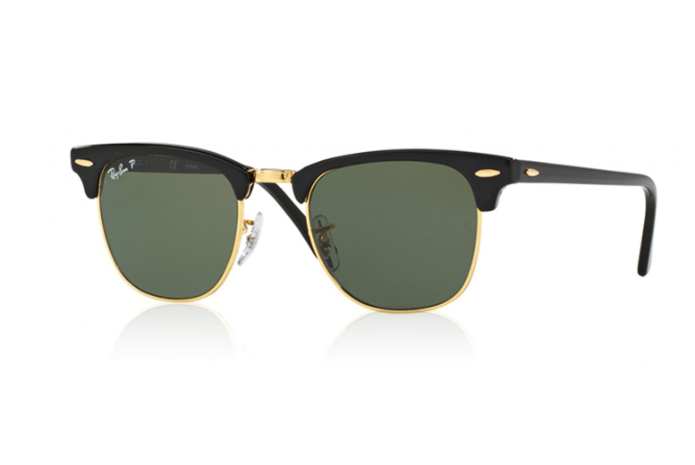 Ray-Ban Polarised Clubmaster Sunglasses (£89)