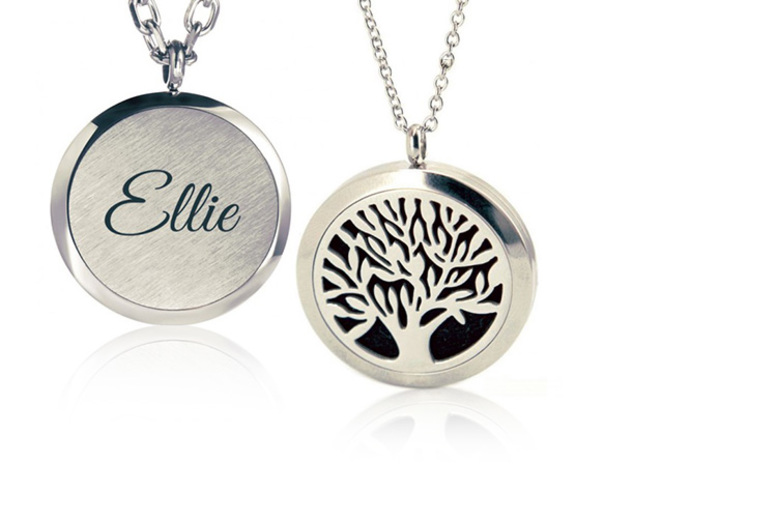 Personalised Aromatherapy Diffuser Necklace