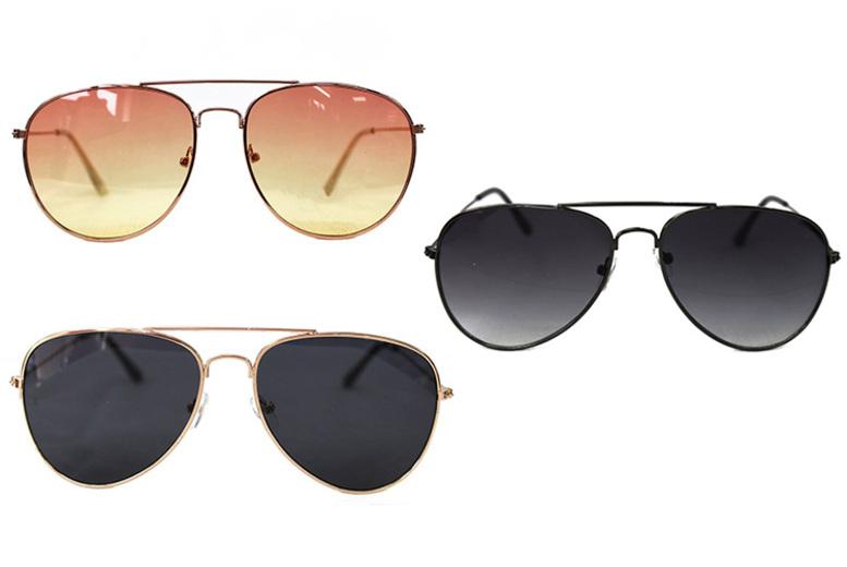 Aviator Sunglasses – 3 Designs! (£4.98)