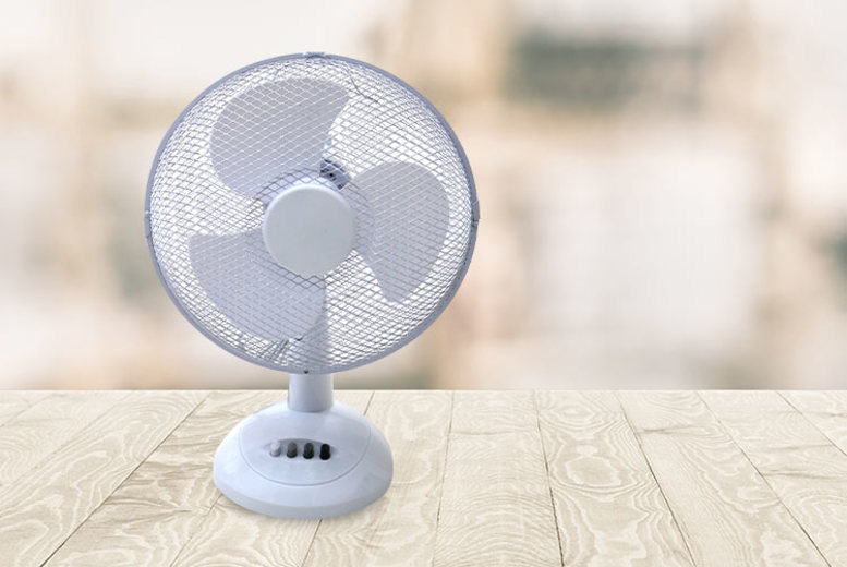 12 Oscillating Desktop Fan
