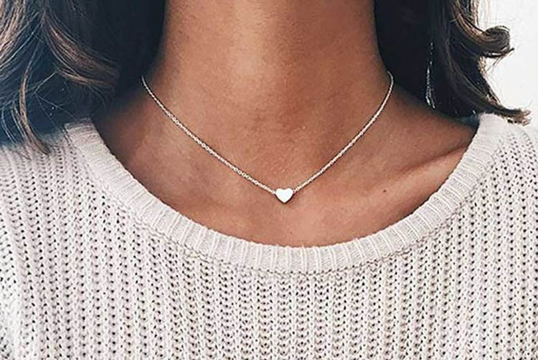 Delicate Heart Necklace (£6.99)