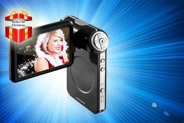 £29 instead of £99.99 (from TheGiftShopUK) for a Cube Electronics 2.4 inch digital video camcorder - capture those special moments and save 71%