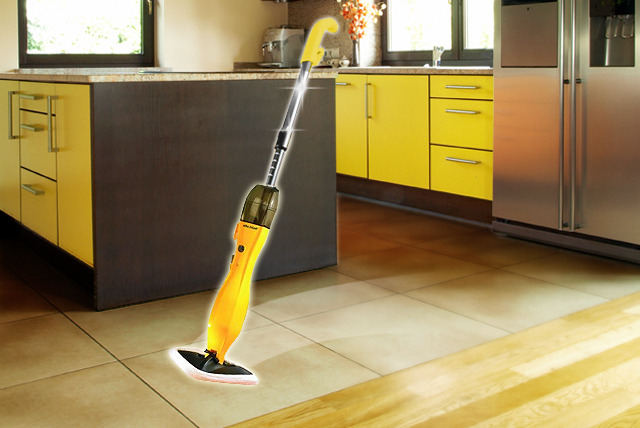 £29 instead of £59.99 (from efbe-schott) for a 900W Delta steam mop - save 52% + DELIVERY INCLUDED