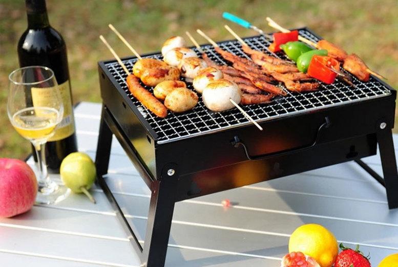 Foldable Portable 'Briefcase' Barbecue (£12.99)