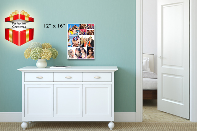 "£7 (from Grangeprint) for a 12"" x 12"" Facebook or Instagram canvas print, or £9 for a 12"" x 16"" canvas - save up to 86%"