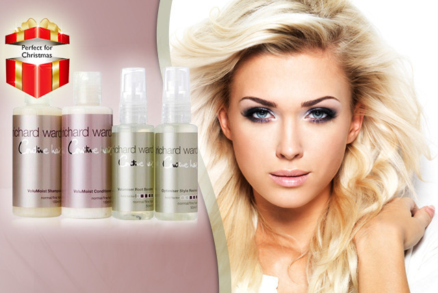 £9 instead of £23 (from Richard Ward Couture Hair) for a VoluMoist Discovery kit, or £15 for an Ultimate Indulgence Volumising kit - save up to 61%