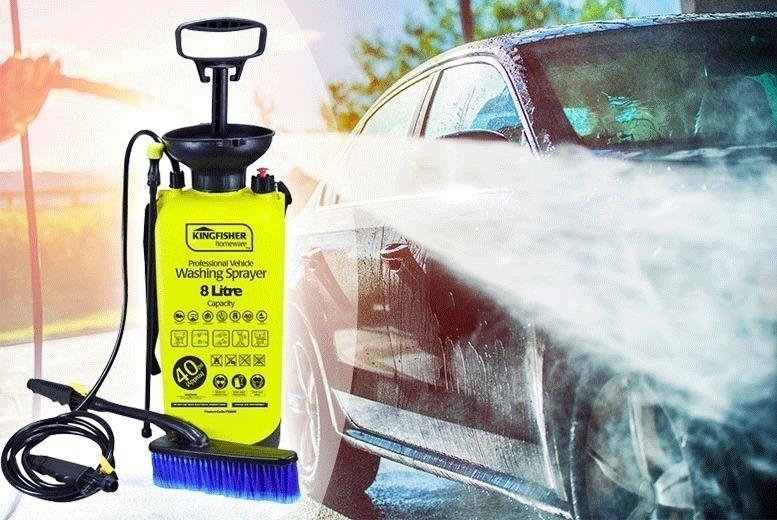 8L Garden Pressure Sprayer (£11.99)