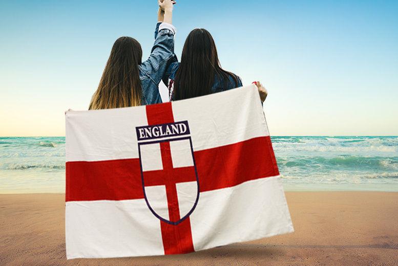England Beach Towel (£7.99)