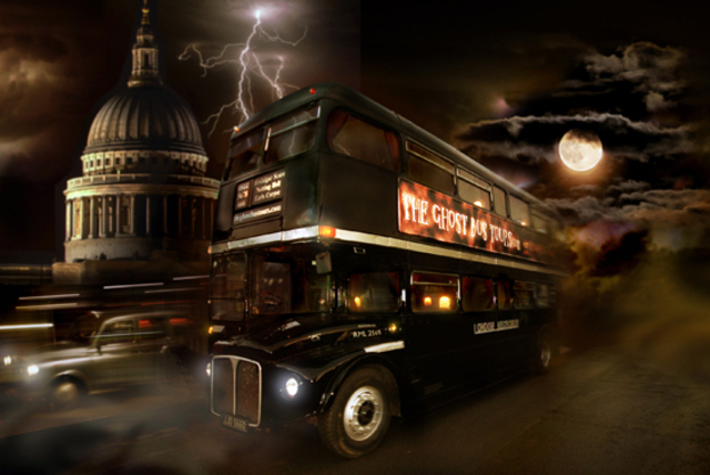 £12 instead of £24 for a Ghost Bus Tour ticket around London and a guidebook, or £24 for 2 tickets from The Ghost Bus Tours - save a spooky 50%