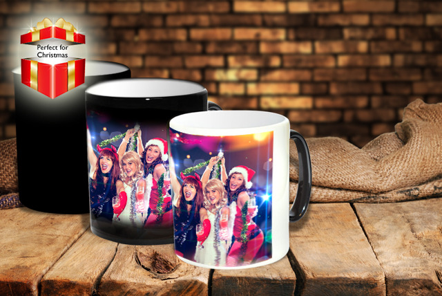 £5.99 instead of £11.99 (from Pixa Prints) for a personalised 'heat to reveal' mug, £9.99 for 2 mugs – save up to 50%