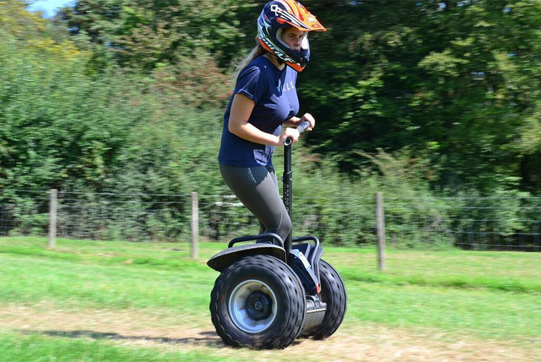 Activities: Off-Road Segway Experience, Surrey - 1, 2 or 4 People!