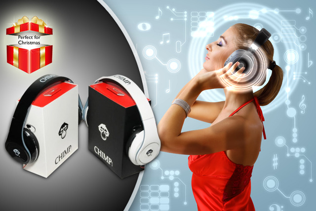 £19.99 instead of £69.99 (from Chimp Electronics) for a pair of Chimp CS-800c headphones - go ape with these stylish headphones and save 71%