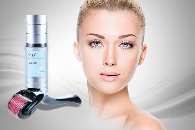 £19 instead of £89.99 (from Look Good Feel Fabulous) for a bottle of MD3 Pro Lift Caviar Serum and Derma Roller - save 79%
