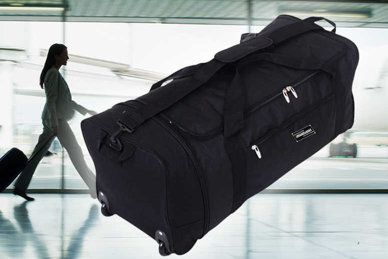 Large Folding Black Cargo Holdall Bag (£11.99)