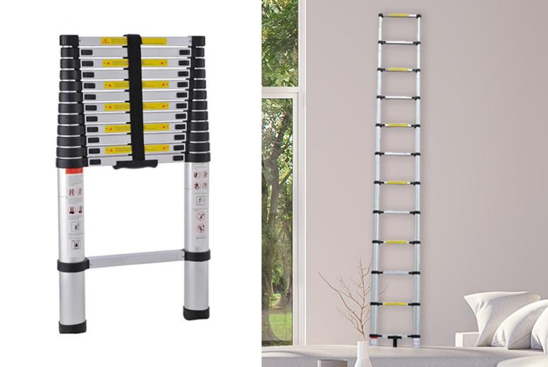 Telescopic Ladder – 3 Sizes! (£49)