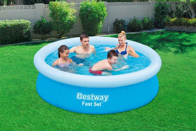 Fast Set Outdoor Swimming Pool  6ft, 8ft 10ft & 12ft Available!