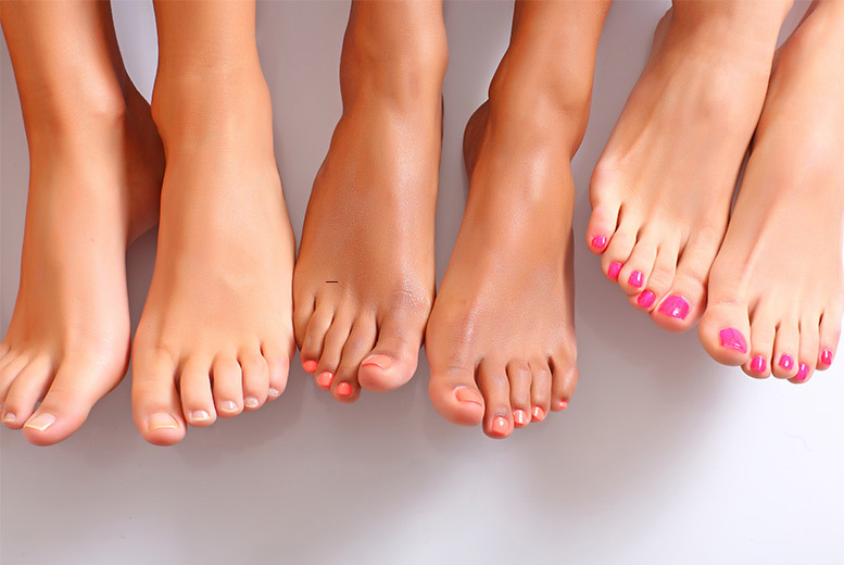 Laser Fungal Nail Treatment for 1 or 2 Feet - 3 Locations!