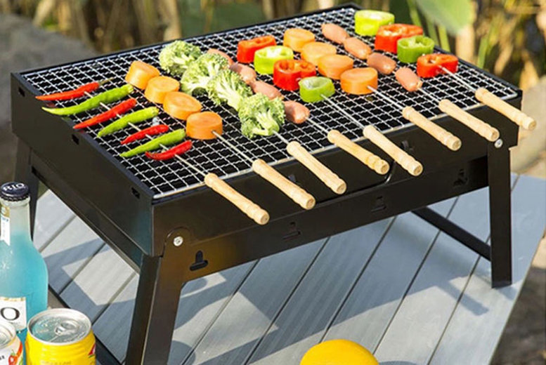 Portable Foldable Barbeque