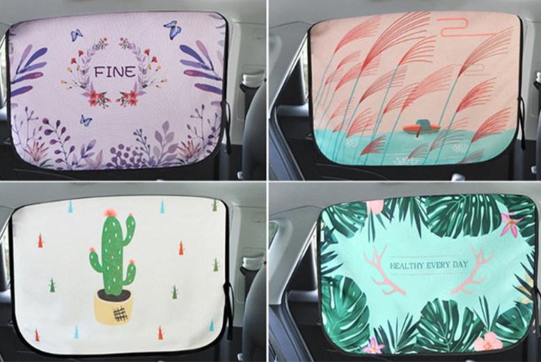 Car Window Sun Shade – 4 Designs! (£6)