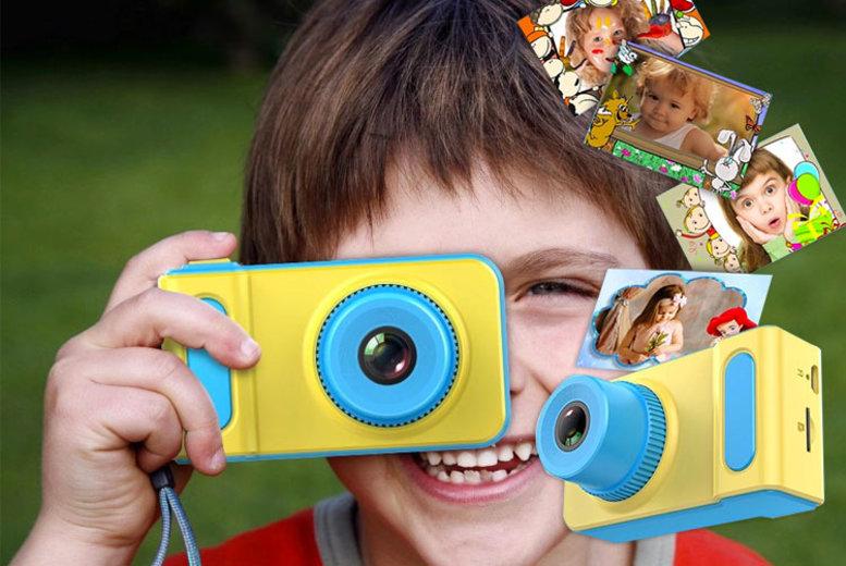 1080p HD Kids Camera & Video Recorder – 2 Colours & 16GB & 32GB Options! (£16)