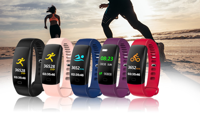 F64HR Fitness Tracker – 5 Colours! (£14)
