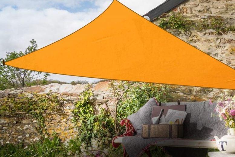 Triangular Sun Shade Sail Canopy