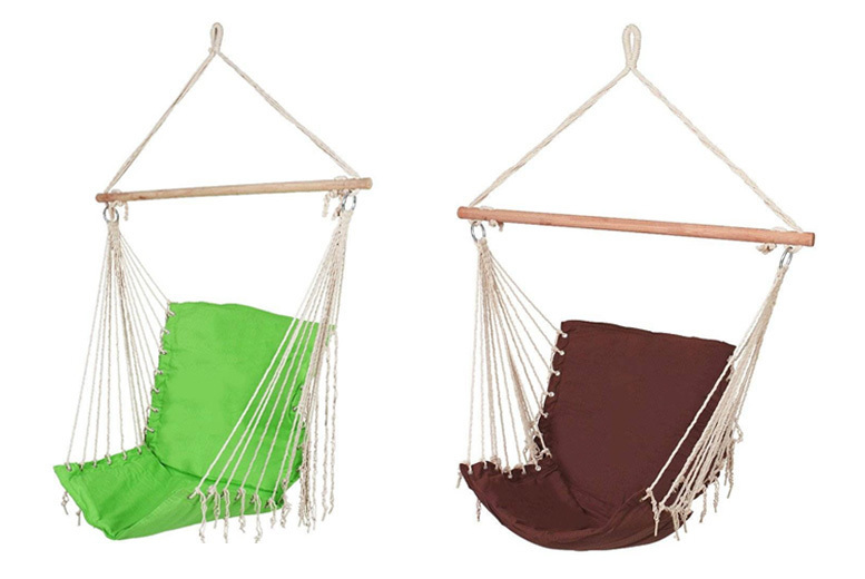 Outdoor Hanging Chair 4 Colours!