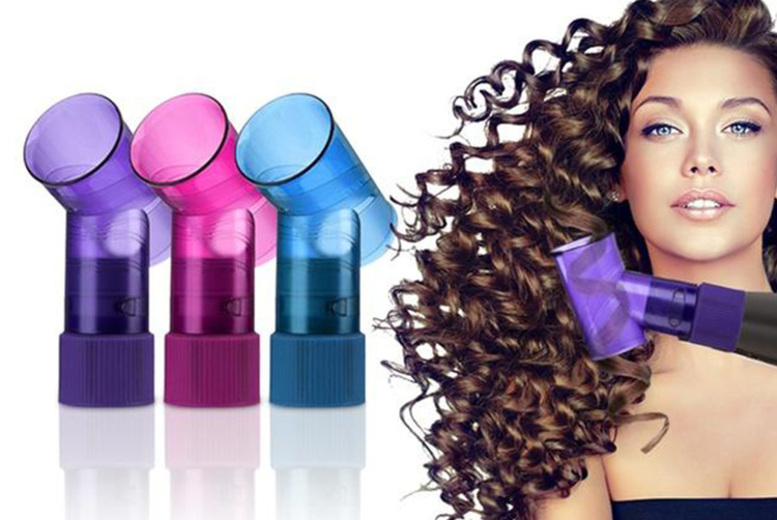 Hair Dryer Curling Tool - 3 Colours!