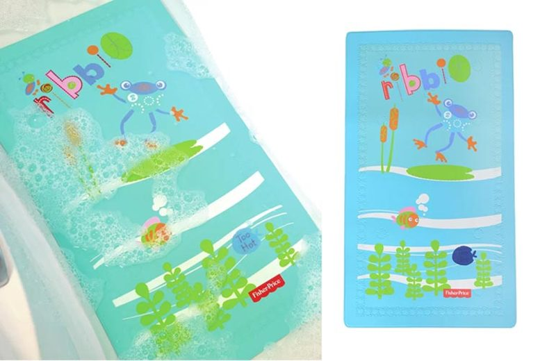 Froggy Friends Temperature Changing Bath Mat (£14)