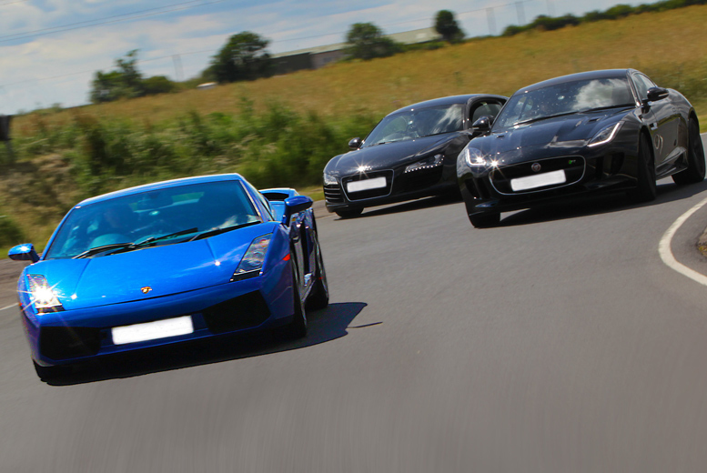 Activities: 3-Lap Supercar Driving Experience @ 6 Locations - Choice of 13 Cars