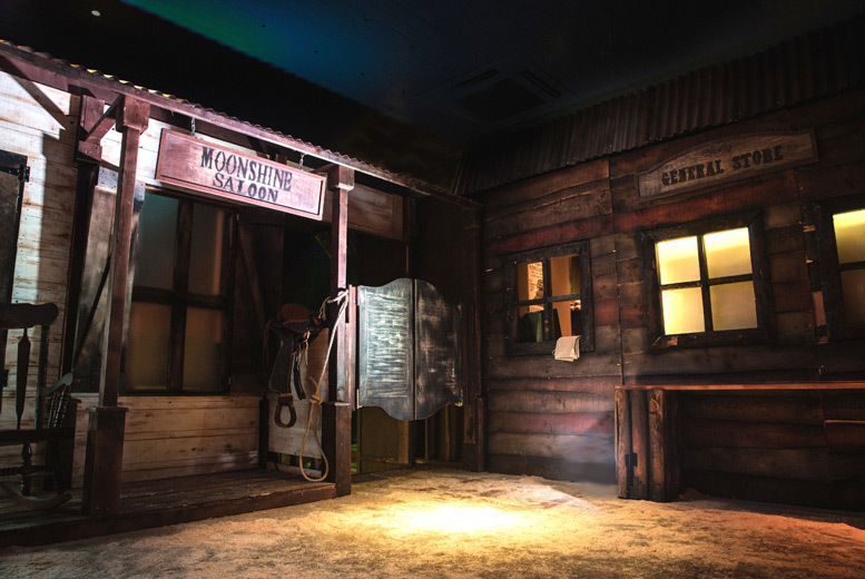 Activities: Entry to the Moonshine Saloon Immersive Experience