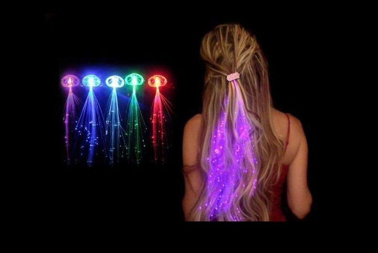 Set of 4 LED Hair Extensions (£4.99)