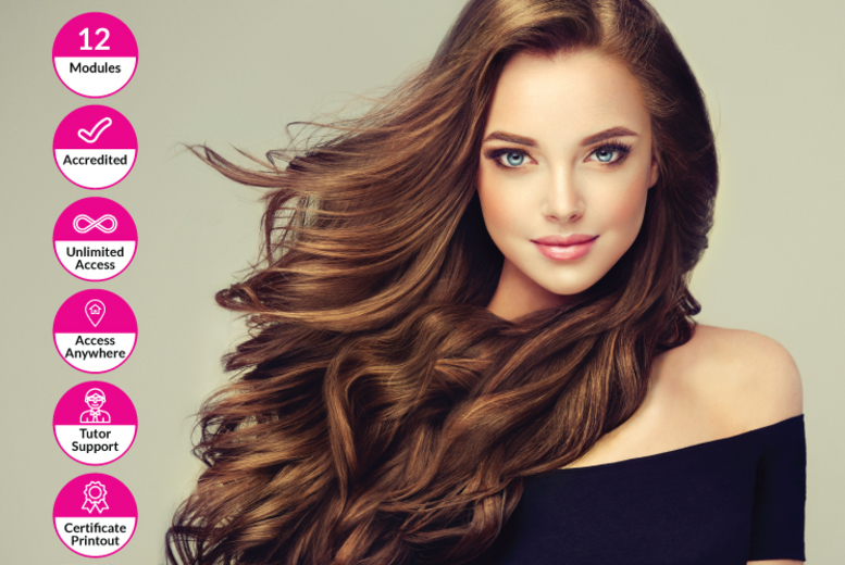 Online Hairstyling Course @ Alpha Academy