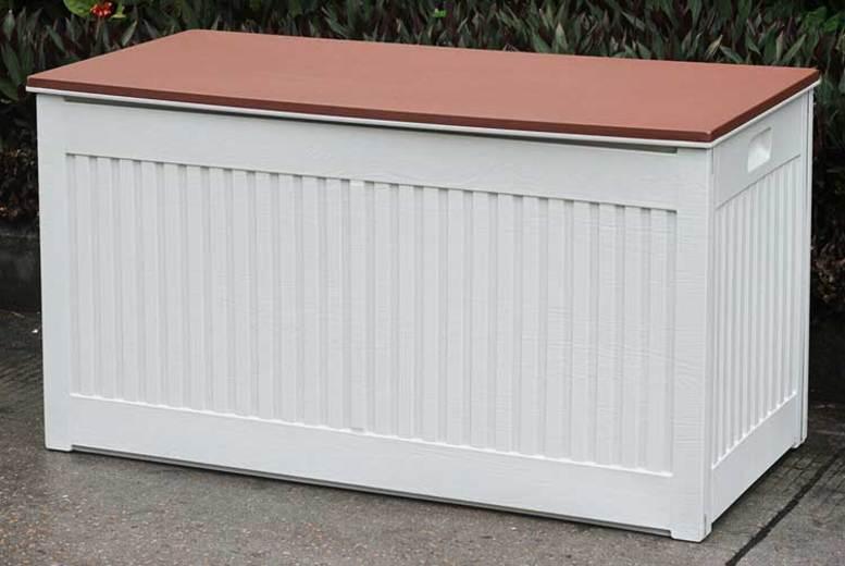 290L Heavy Duty Outdoor Storage Box - 2 Colours!