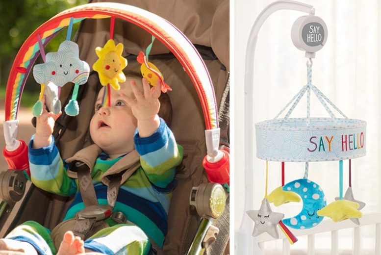 Baby Sensory 'Say Hello' Stroller Arch & Cot Mobile (£34.99)