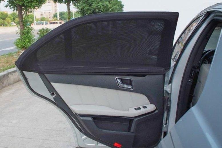 1 or 2 Children's Car Window Sun Shades – 2 Sizes! (£6)