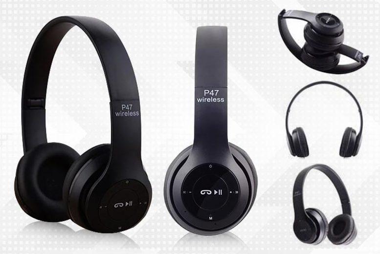 Foldable Wireless Bluetooth Headphones  2 Colours!