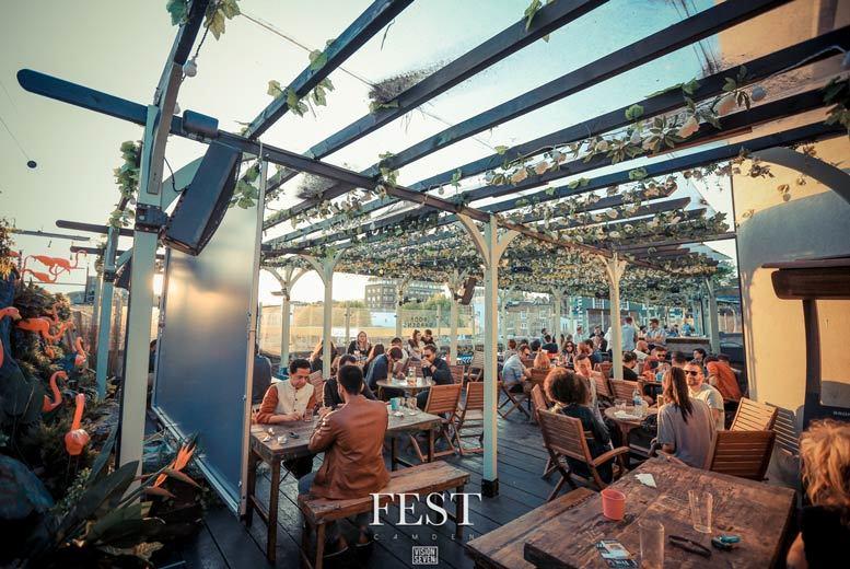 Restaurants & Bars: FEST Camden Stables Cabaret, 3-Course Dining, Cocktail & Club Entry